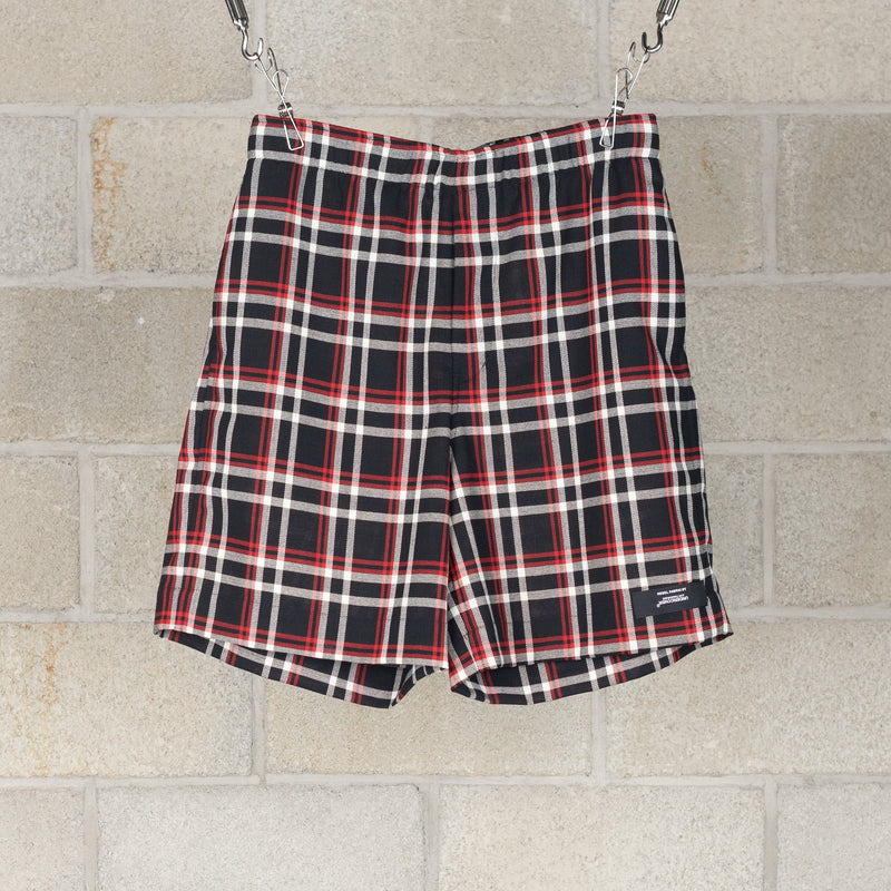 1201-CP10-069 Shorts - Black Check-N.Hoolywood-SUPPLIES & COMPANY