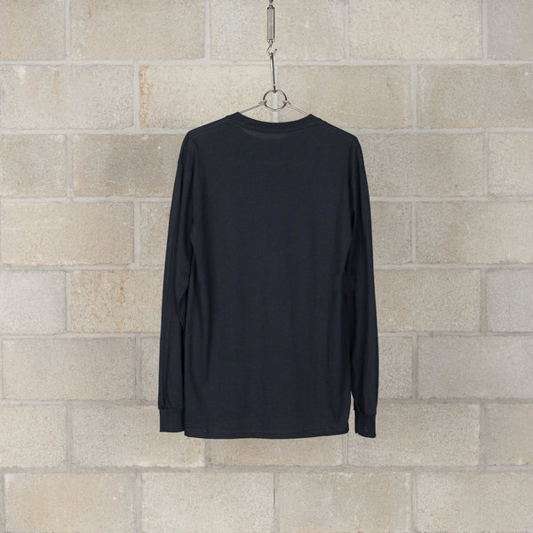 1201-CS81-083 Long Sleeve T-Shirt - Black-N.Hoolywood-SUPPLIES & COMPANY
