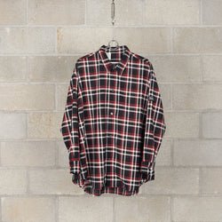 1201-SH07-069 Shirt - Black Check-N.Hoolywood-SUPPLIES & COMPANY