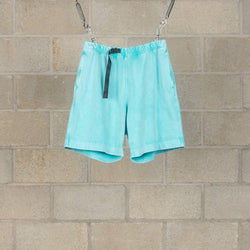 Acid Washed Shorts - Turquoise-N.Hoolywood-SUPPLIES & COMPANY