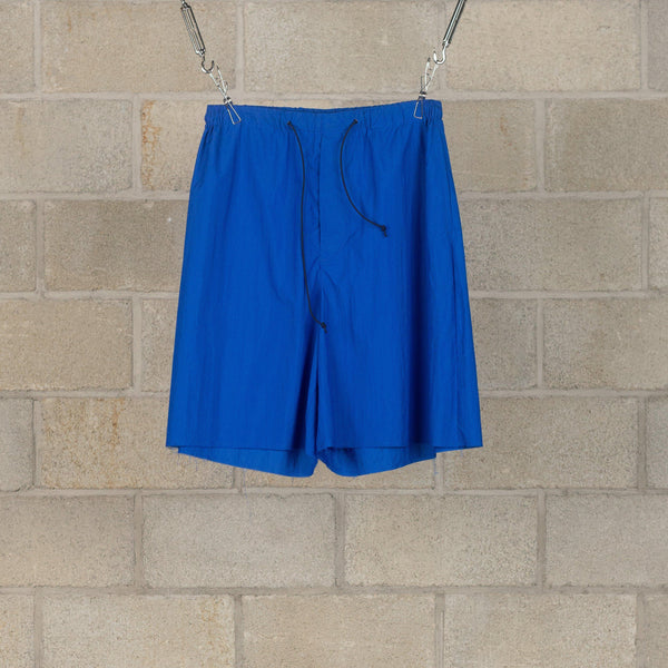 Drawstring Broad Shorts - Blue-N.Hoolywood-SUPPLIES & COMPANY