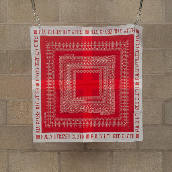 Fully Utilized Bandana - Red-N.Hoolywood-SUPPLIES & COMPANY
