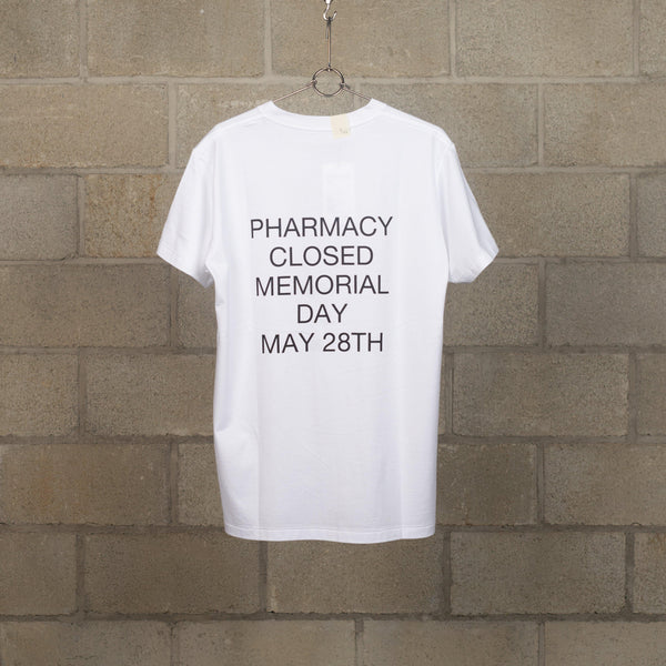 pharmacy T-Shirt - White-N.Hoolywood-SUPPLIES & COMPANY