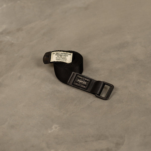 Porter Utility Ring Belt - Black-N.Hoolywood-SUPPLIES & COMPANY