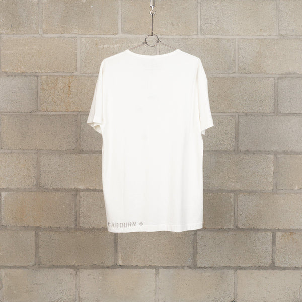 40s US Navy T-Shirt - Off White-Nigel Cabourn-SUPPLIES & COMPANY
