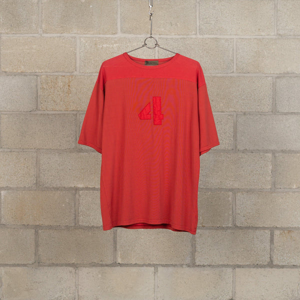 50s Football T-Shirt - Garment Dye-Nigel Cabourn-SUPPLIES & COMPANY