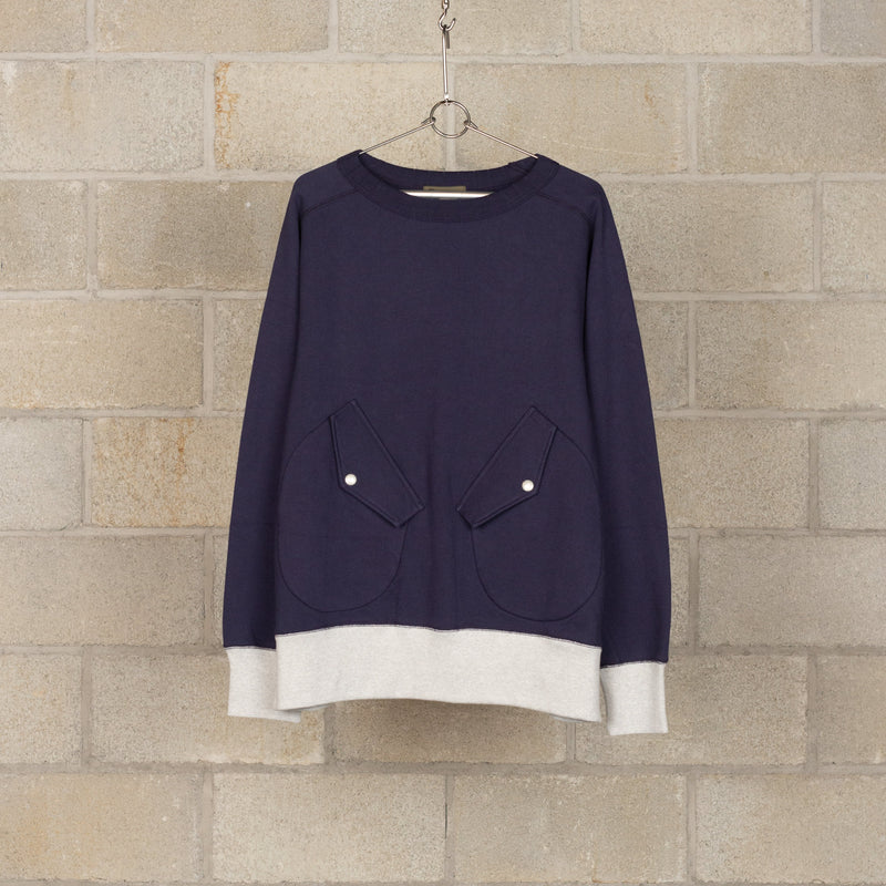 Divers Sweat - Navy-Nigel Cabourn-SUPPLIES & COMPANY