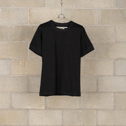 J-50 Army T-Shirt - Black-Nigel Cabourn-SUPPLIES & COMPANY