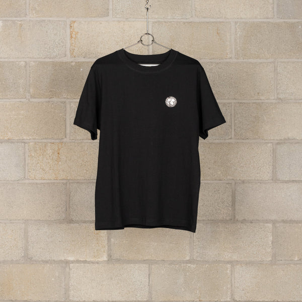 J-53 Globe Logo T-Shirt - Black-Nigel Cabourn-SUPPLIES & COMPANY