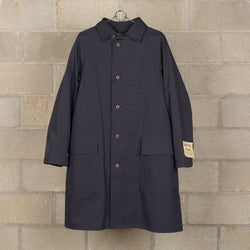 Packable Coat / HALFTEX - Black-Nigel Cabourn-SUPPLIES & COMPANY