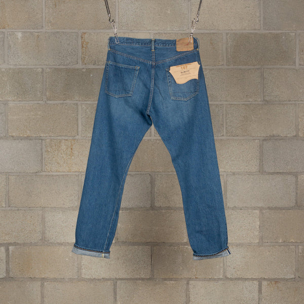 orSlow Ivy Fit Denim 107 - 2 Year Wash SUPPLIES AND CO