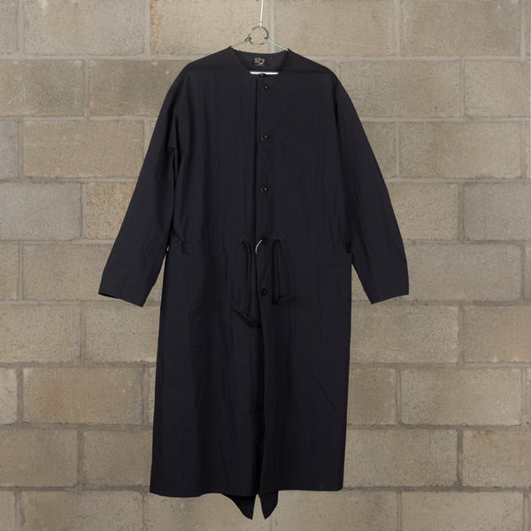 orSlow No Collar Coat - Black SUPPLIES AND CO