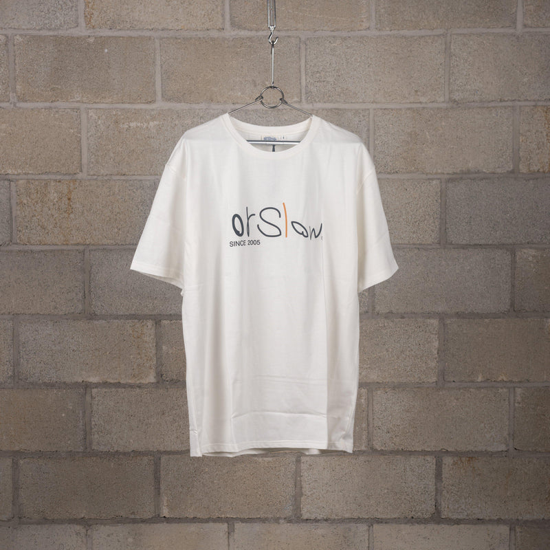 orSlow Printed Logo T-Shirt SUPPLIES AND CO