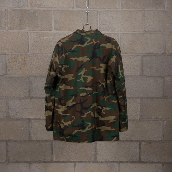 orSlow US Army Tropical Jacket - Woodland Camo SUPPLIES AND CO