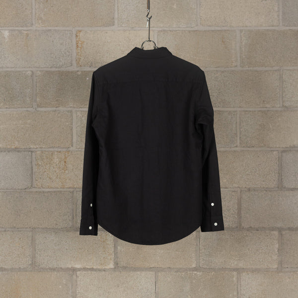PEEL & LIFT Pinned Collar Shirt - Black SUPPLIES AND CO