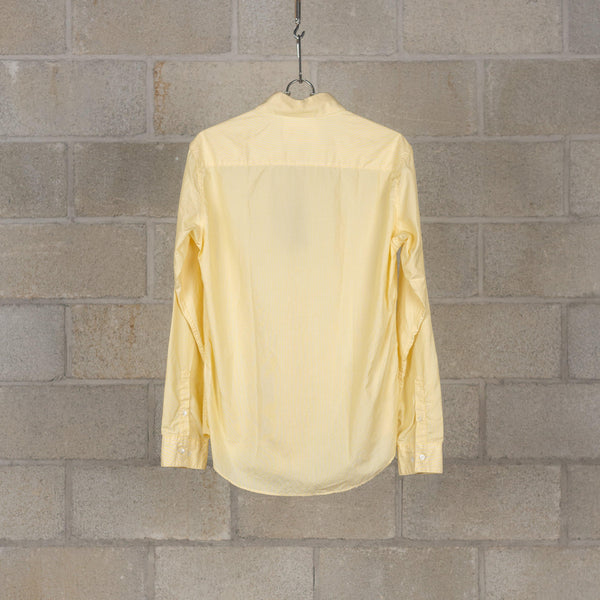 PEEL & LIFT Pinned Collar Shirt - Hairline Yellow SUPPLIES AND CO