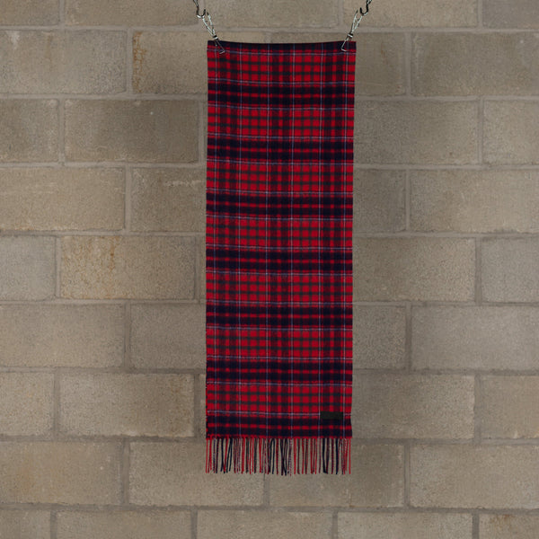 Wool Scarf - Red-PEEL & LIFT-SUPPLIES & COMPANY