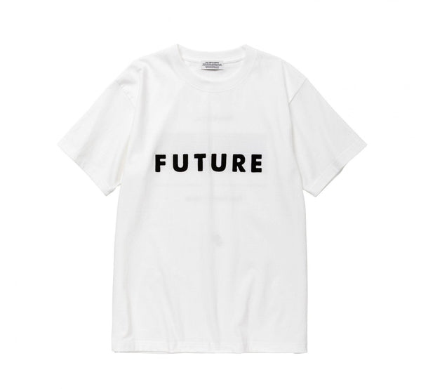 POET MEETS DUBWISE FUTURE T-Shirt - White SUPPLIES AND CO