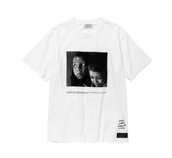 POET MEETS DUBWISE G&B Photo T-Shirt - White SUPPLIES AND CO