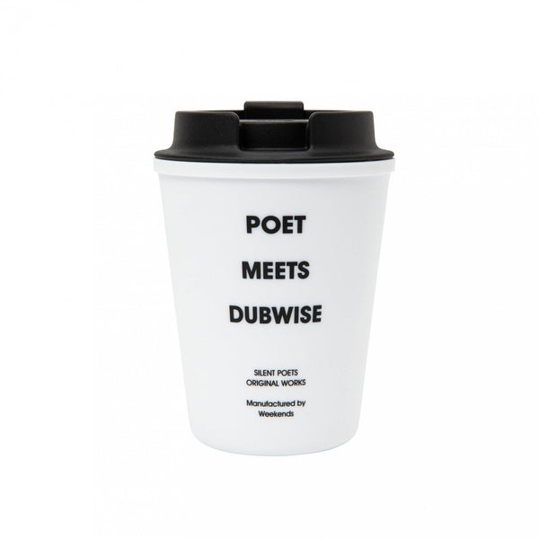 POET MEETS DUBWISE Little Nap Coffee Mug - White SUPPLIES AND CO