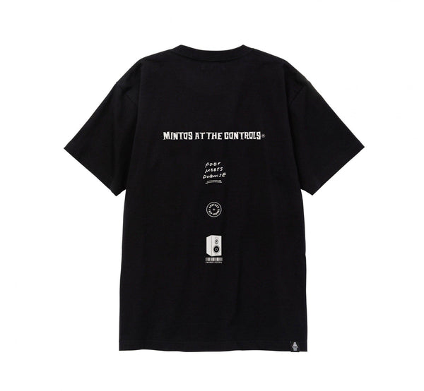 POET MEETS DUBWISE Mintos T-Shirt - Black SUPPLIES AND CO