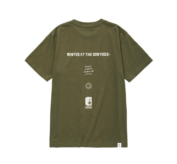 POET MEETS DUBWISE Mintos T-Shirt - Olive SUPPLIES AND CO