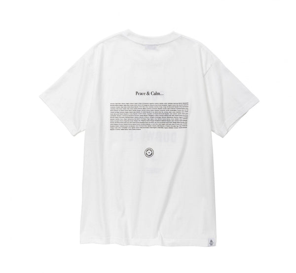 POET MEETS DUBWISE New PMD T-Shirt - White SUPPLIES AND CO
