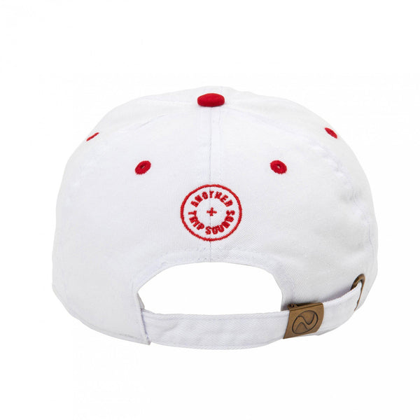 POET MEETS DUBWISE PMD Baseball Low Cap (Two Tone) - Red SUPPLIES AND CO