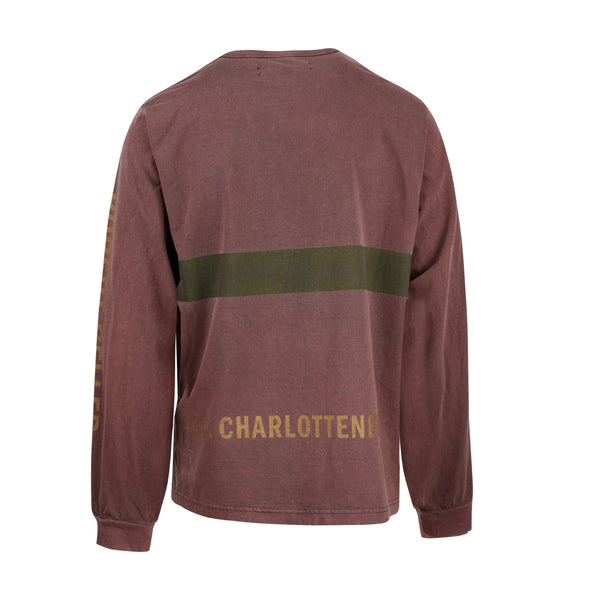 Robert Geller F.C Charlottensburg Long Sleeve T-Shirt SUPPLIES AND CO