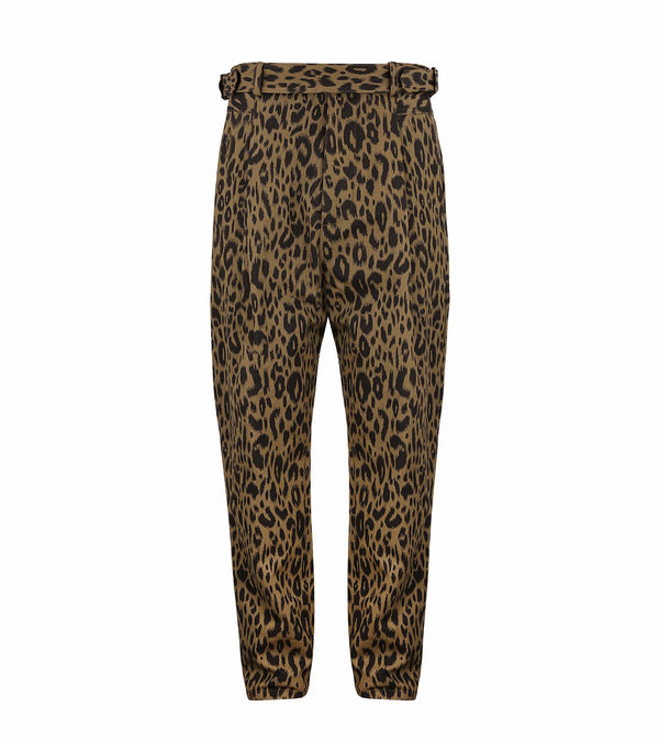 Leopard Blixa Trousers-Robert Geller-SUPPLIES & COMPANY