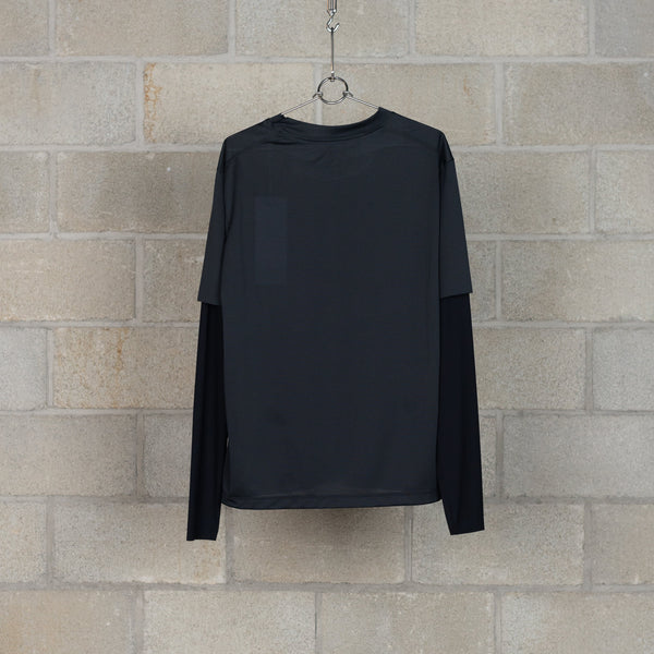 Justice Light Long T-Shirt - Black-SATISFY-SUPPLIES & COMPANY