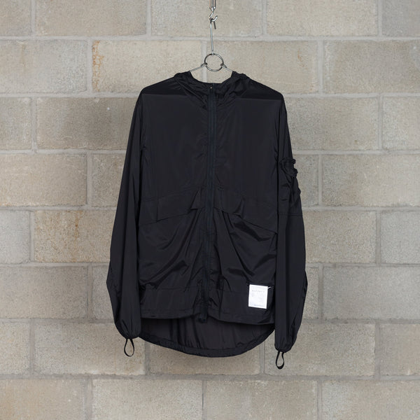 Packable Windbreaker - Black Silk-SATISFY-SUPPLIES & COMPANY