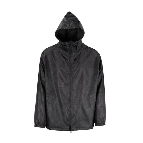 SOPHNET. Light Weight Zip Up Hoodie - Black SUPPLIES AND CO
