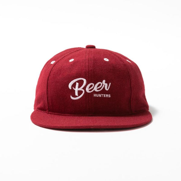 Beer Hunter Cap - Burgundy