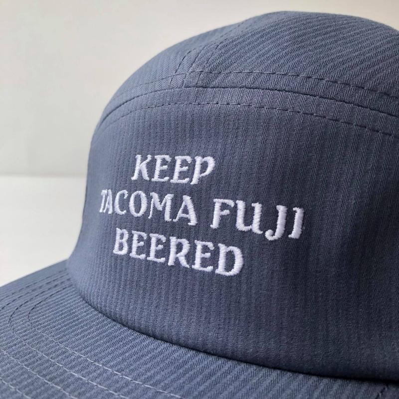 Beered Cap - Blue