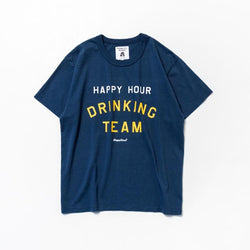 Tacoma Fuji Records HAPPY HOUR DRINKING TEAM - Navy SUPPLIES AND CO
