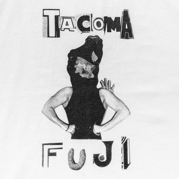 HARDCORE TACOMA FUJI T-Shirt - White-Tacoma Fuji Records-SUPPLIES & COMPANY