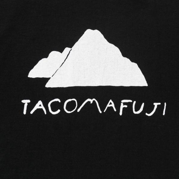 Mt.TACOMA FUJI T-Shirt - Black-Tacoma Fuji Records-SUPPLIES & COMPANY
