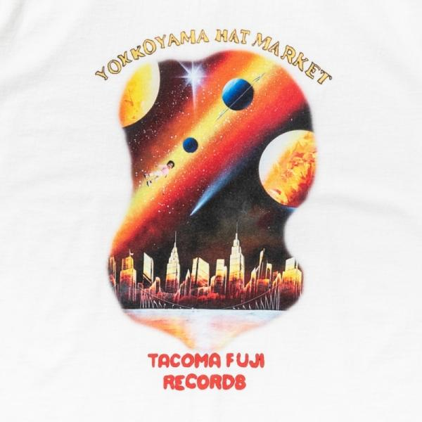 SYSTEM T-Shirt - White-Tacoma Fuji Records-SUPPLIES & COMPANY