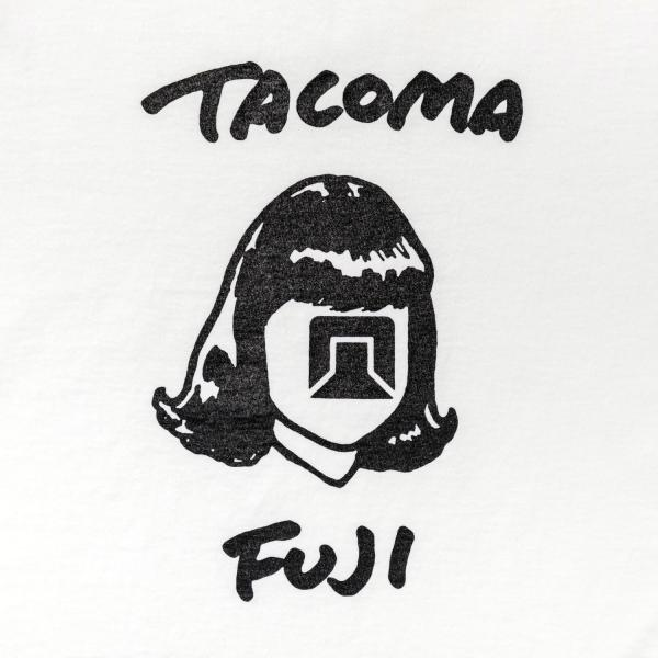 Tacoma Fuji Records TACOMA FUJI HANDWRITING LOGO T-Shirt - White SUPPLIES AND CO