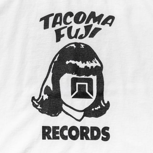 TACOMA FUJI LOGO '20 T-Shirt - White-Tacoma Fuji Records-SUPPLIES & COMPANY
