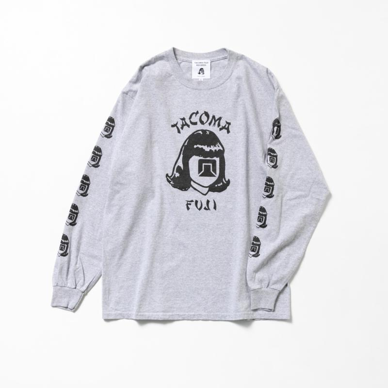TACOMA FUJI ORIENTALES '20 Long Sleeve T-Shirt - Heather Grey-Tacoma Fuji Records-SUPPLIES & COMPANY