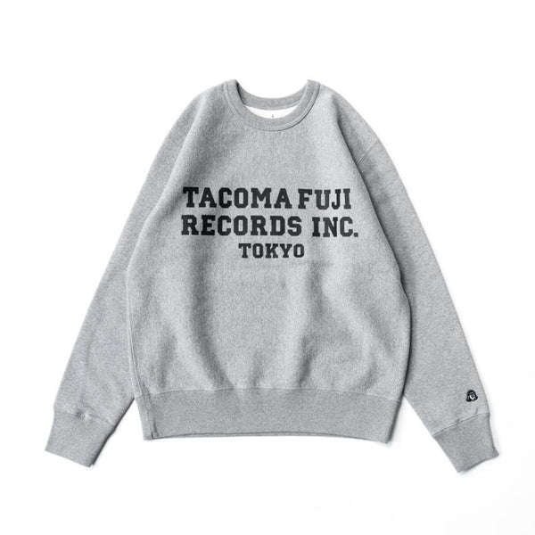 Tacoma Fuji Records Inc. Sweatshirt - Heather Grey-Tacoma Fuji Records-SUPPLIES & COMPANY