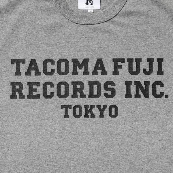 TACOMA FUJI RECORDS, INC. T-Shirt - Heather Grey-Tacoma Fuji Records-SUPPLIES & COMPANY