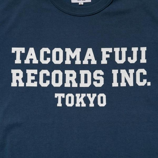 TACOMA FUJI RECORDS, INC. T-Shirt - Navy-Tacoma Fuji Records-SUPPLIES & COMPANY