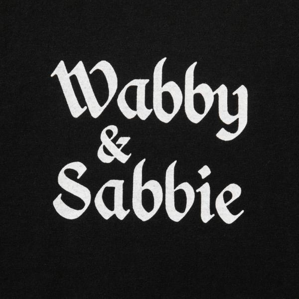 wabby & sabbie T-Shirt - Black-Tacoma Fuji Records-SUPPLIES & COMPANY