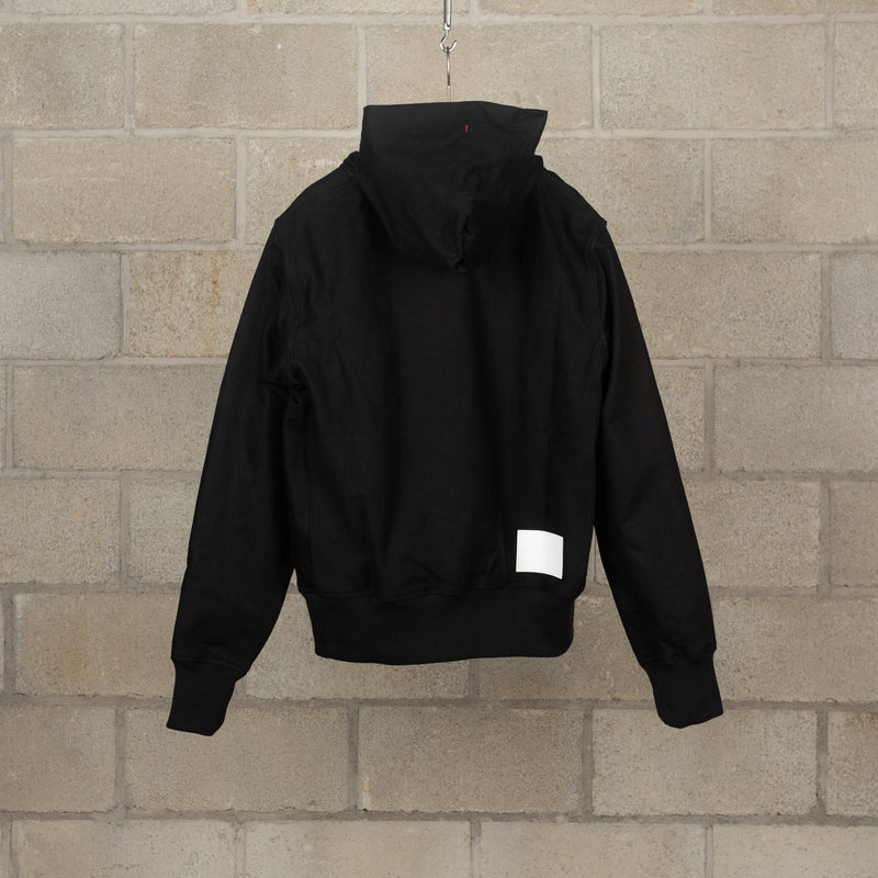 ssgj.0002b Pullover Hoodie (Denim) - Black-TAKAHIROMIYASHITA The Soloist.-SUPPLIES & COMPANY
