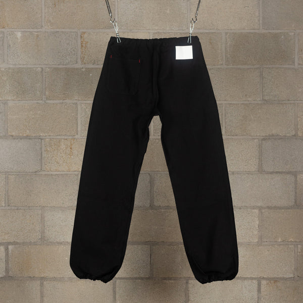 ssgp.0001b Easy Pants (Denim) - Black-TAKAHIROMIYASHITA The Soloist.-SUPPLIES & COMPANY