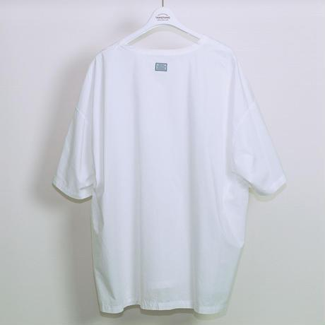 Pocket (Broad) Oversized T-Shirt - White