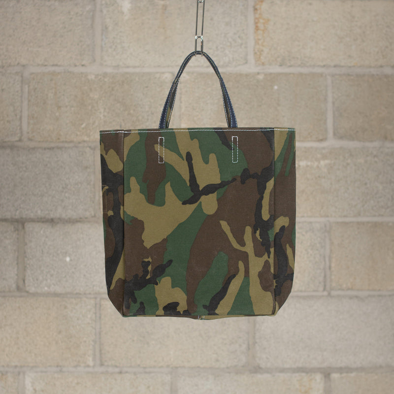 TEMBEA Paper Bag Print - New Woodland Camo / Dk.Navy SUPPLIES AND CO
